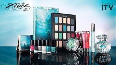 La Sirenita también tiene su propia colección de maquillaje en Sephora