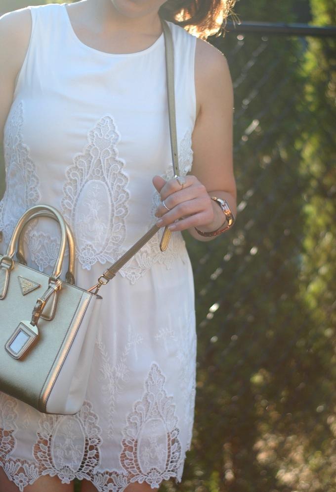 Forever 21 Little White Dress