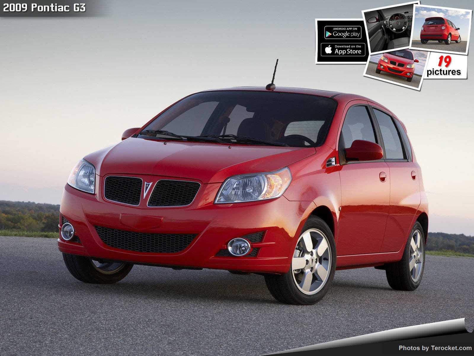 Hình ảnh xe ô tô Pontiac G3 2009 & nội ngoại thất