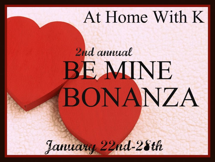 At Home With K Be Mine Bonanza Day 3 Love Letter Wall Art