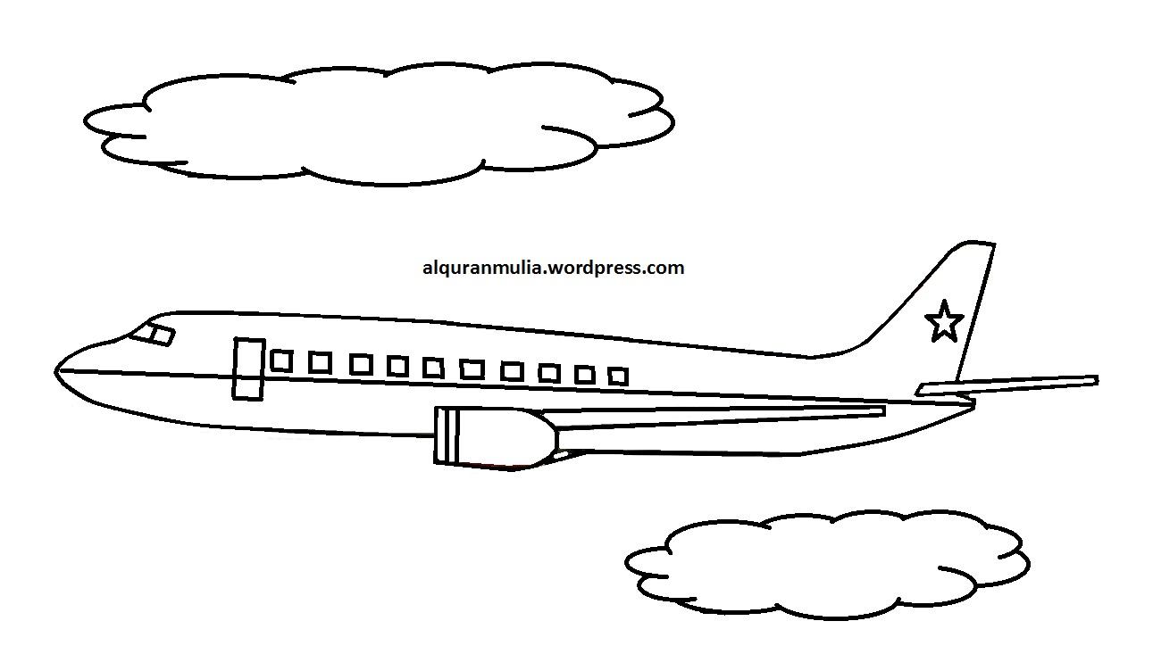 Mewarnai Pesawat Lion Air Mewarnai X