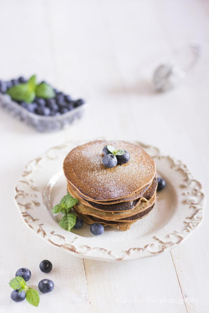 Pancake integrali vegani