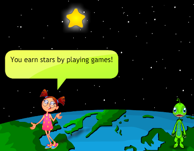 Bella explains how to earn stars.