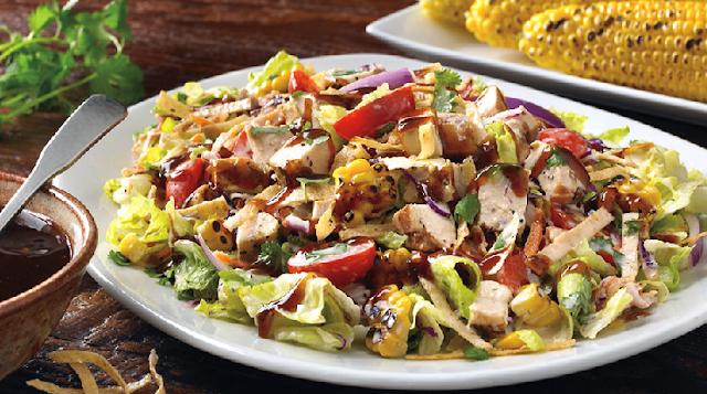 Salada no restaurante Outback em Orlando
