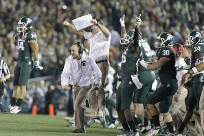 Bowl Game Day Goulash: Mark Dantonio, Jadeveon Clowney, A.J. McCarron, and more.