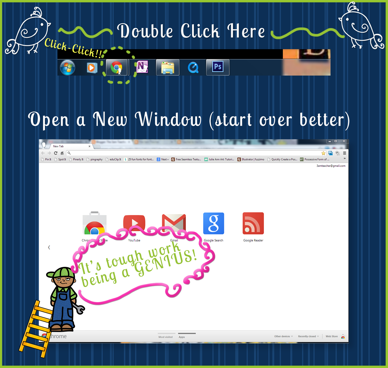 how to open new window chrome