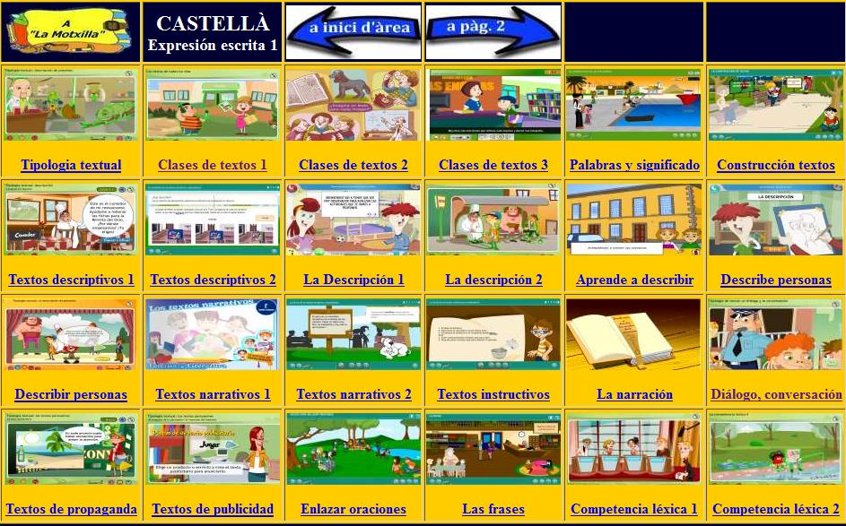 http://www.ceip-diputacio.com/MITJA%20I%20SUPERIOR/castella/escrita1.htm