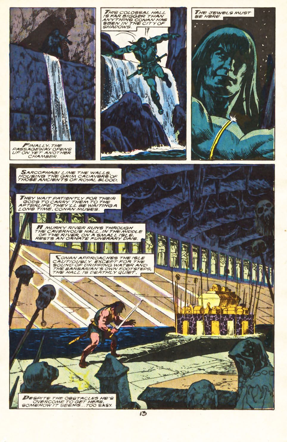 Conan the Barbarian (1970) Issue #217 #229 - English 10