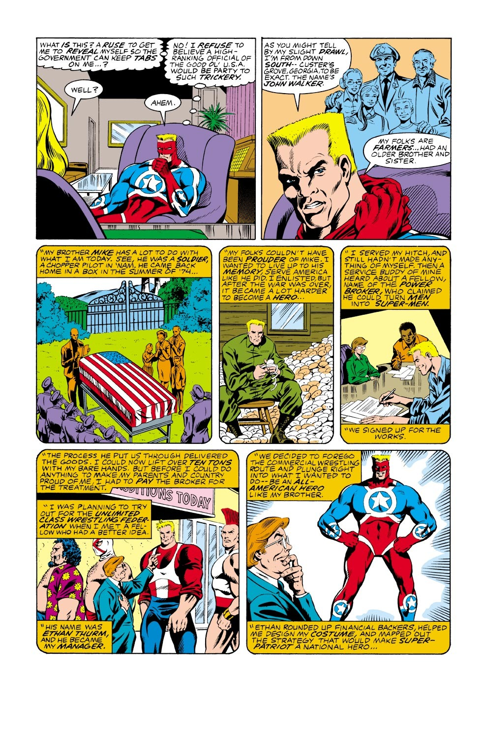 Captain America (1968) Issue #333 #262 - English 9