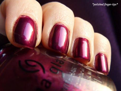 China Glaze Don't Make Me Wine - Natural Light