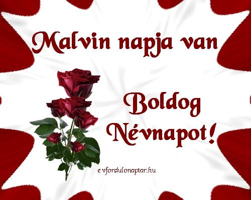 Október 1 - Malvin névnap