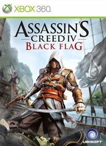 Jaquette du jeu xbox360 assassin's creed 4 black flag