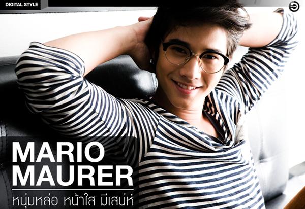 Short Hair Styles☀Mario Maurer