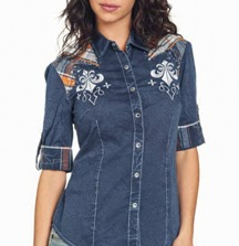 Affliction Button-Down