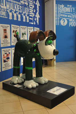 The Green Gromit (side view)