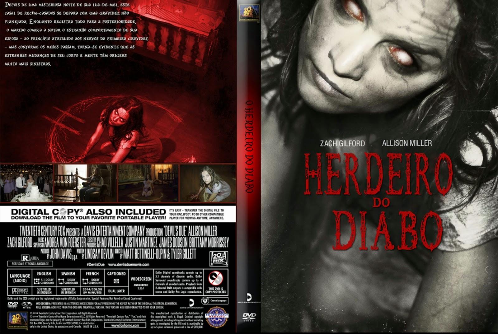 Herdeiro Do Diabo for herdeiro do diabo   capas x filmes