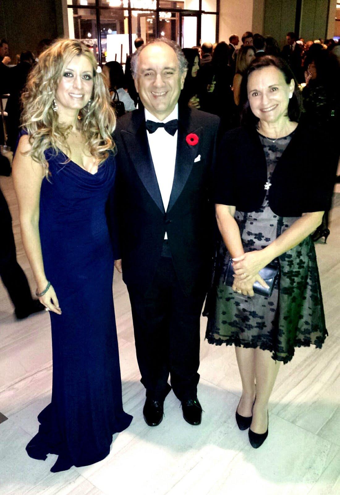 Italian Ambassador to Canada Gian Lorenzo Cornado