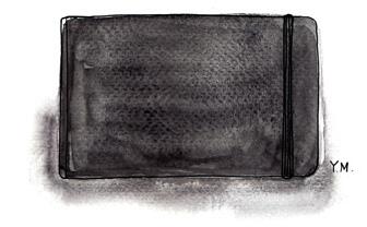 Moleskine by Yukié Matsushita