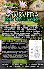 TALLER Y CLASES DE AYURVEDA