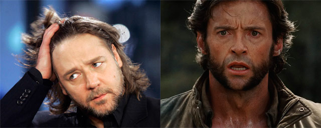 Russell Crowe como Wolverine (X-Men)