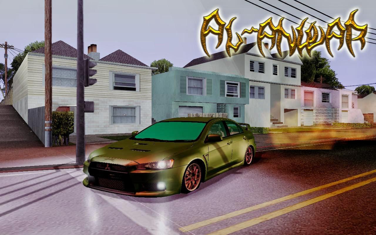 Mitsubishi Lancer Evolution X Mod GTA San Andreas