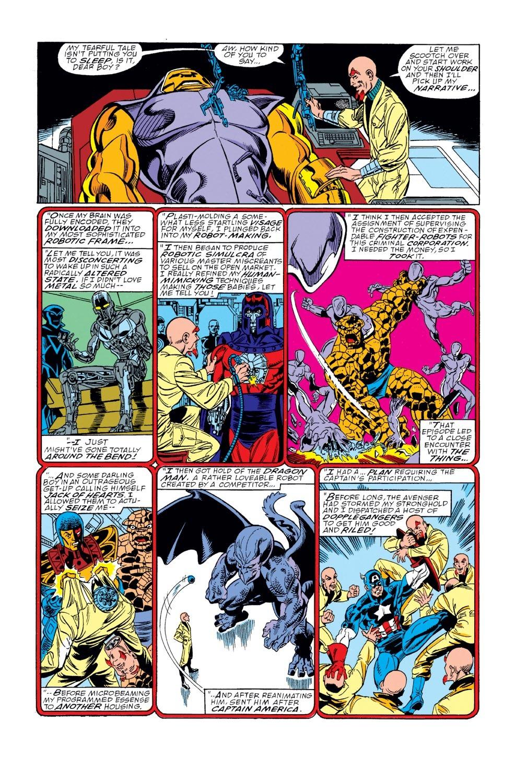 Captain America (1968) Issue #368 #301 - English 22