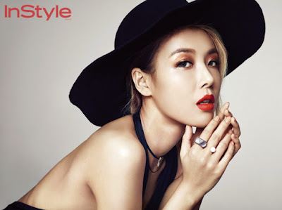 Yubin Wonder Girls - InStyle Magazine October Issue 2015