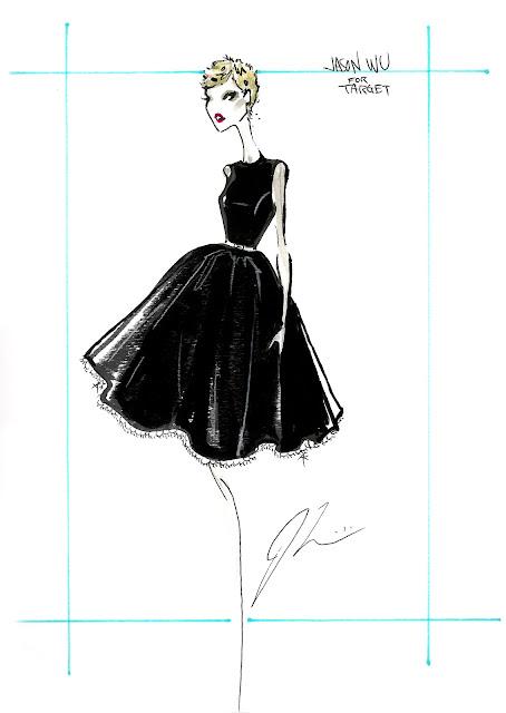 jason wu for target sketch