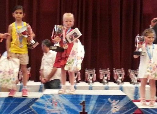 Олеся Власова - чемпион Европы по шахматам среди юниоров