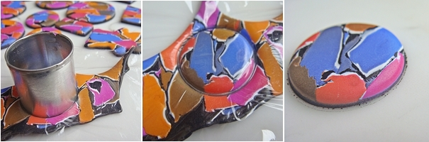 Мастер-класс по лепке из полимерной глины: Мозаика.