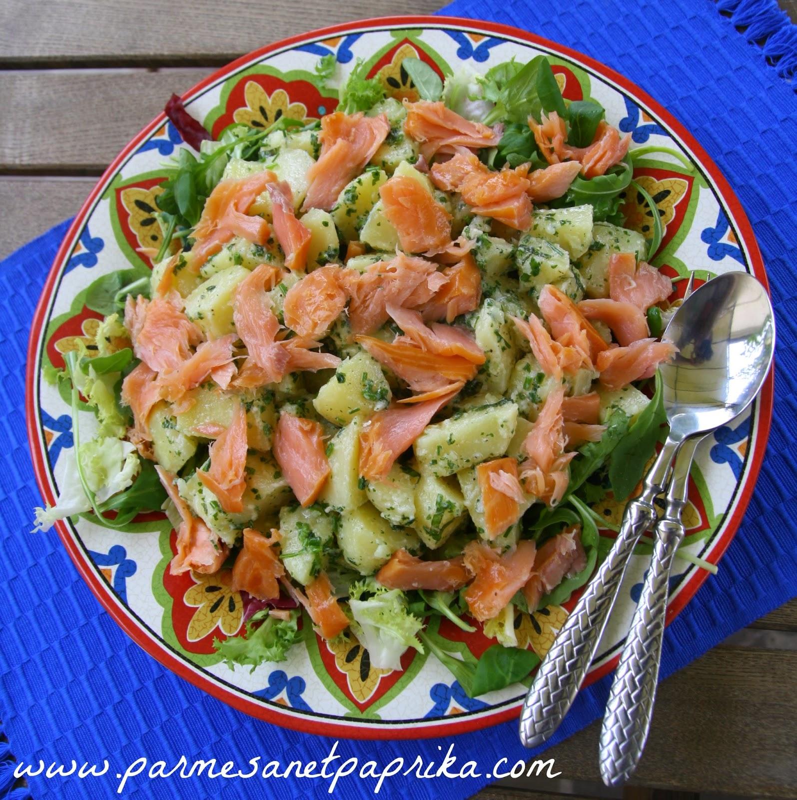 salade pomme de terre saumon