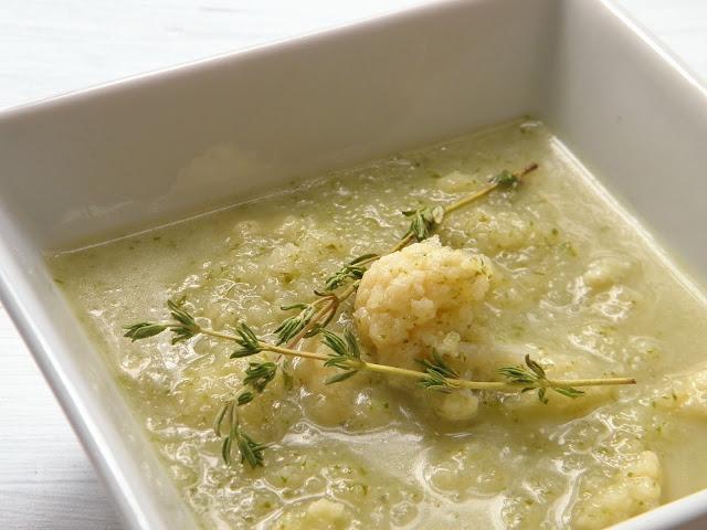 květáková krémová polévka bez lepku