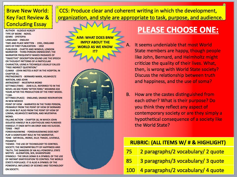 brave new world full text pdf