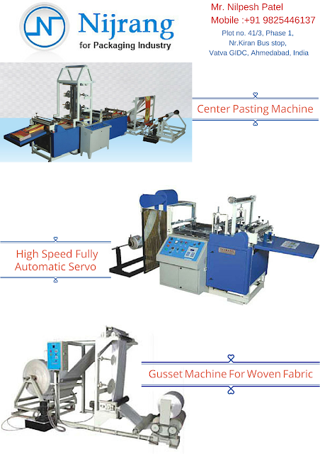 Nijranggroup Manufacture Various Printing and Packaging Machinery