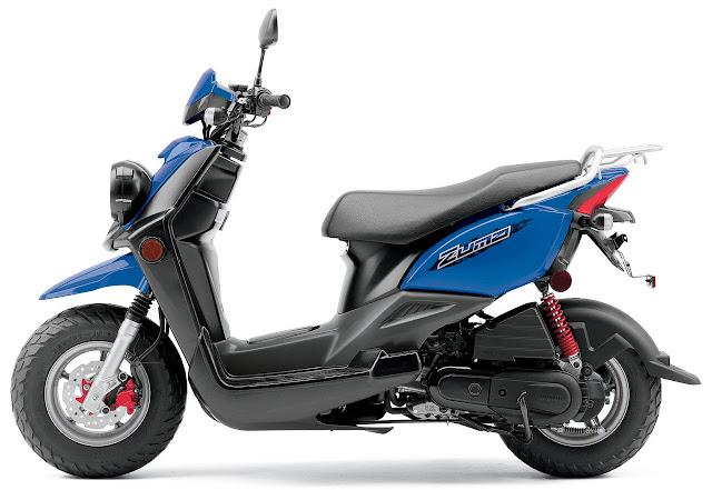 2012-Yamaha-Zuma-50F-Blue
