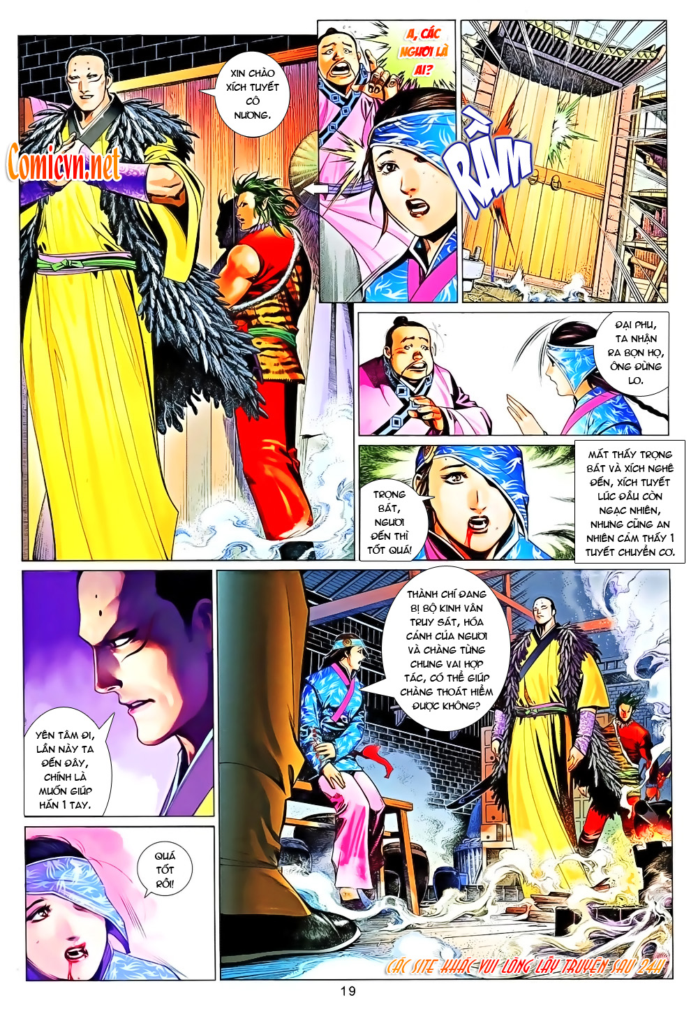 Phong Vân chap 640 Trang 18 - Mangak.info