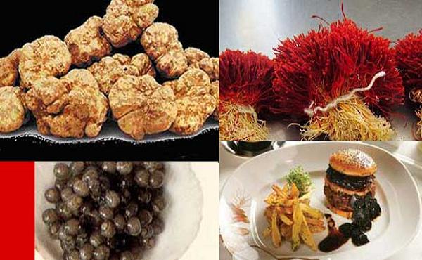 Inilah 10 Makanan Dan Minuman Termahal di Dunia