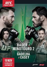 UFC São Paulo - 19/11 - 21h00