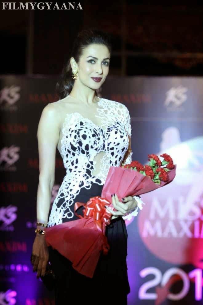 Malaika Arora Khan Hot Looking at Kama Sutra Miss Maxim 2015 Grand Finale