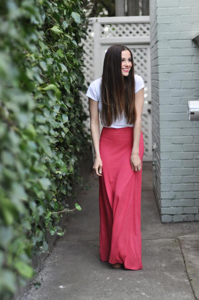 Как сшить красивую длинную юбку своими руками