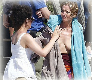 Casi desnuda - Emma Thompson - farandula