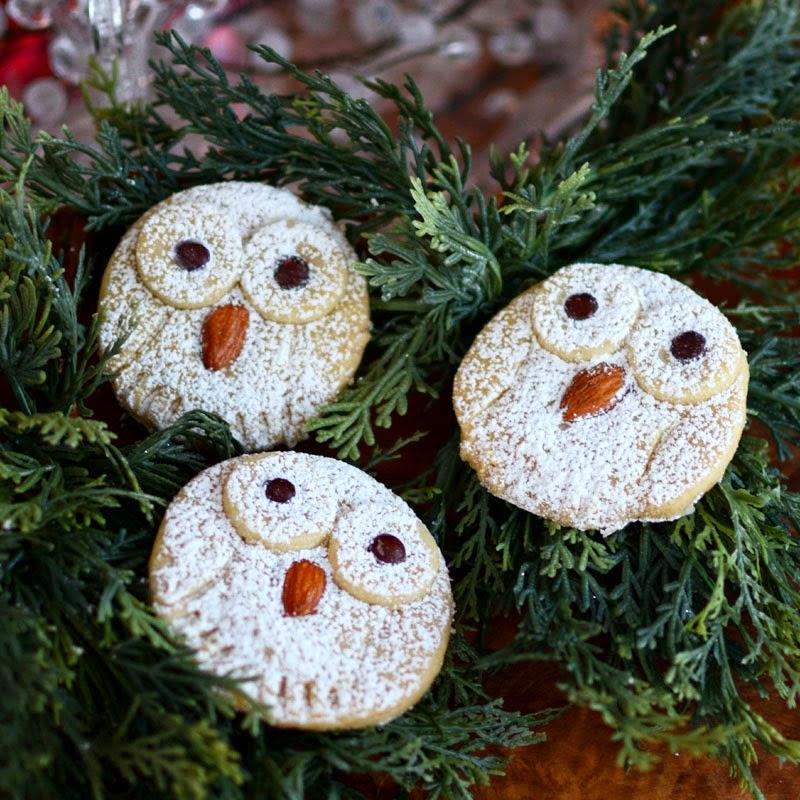 Snowy Owl Cookies