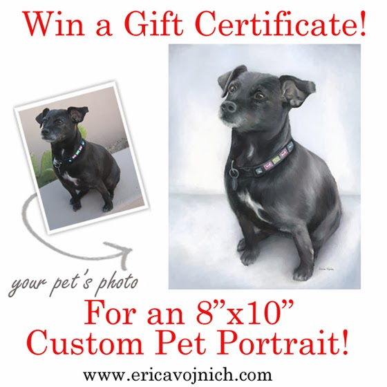Win a Pet Portrait