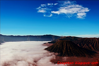 Bromo Mountain from Love Hill View