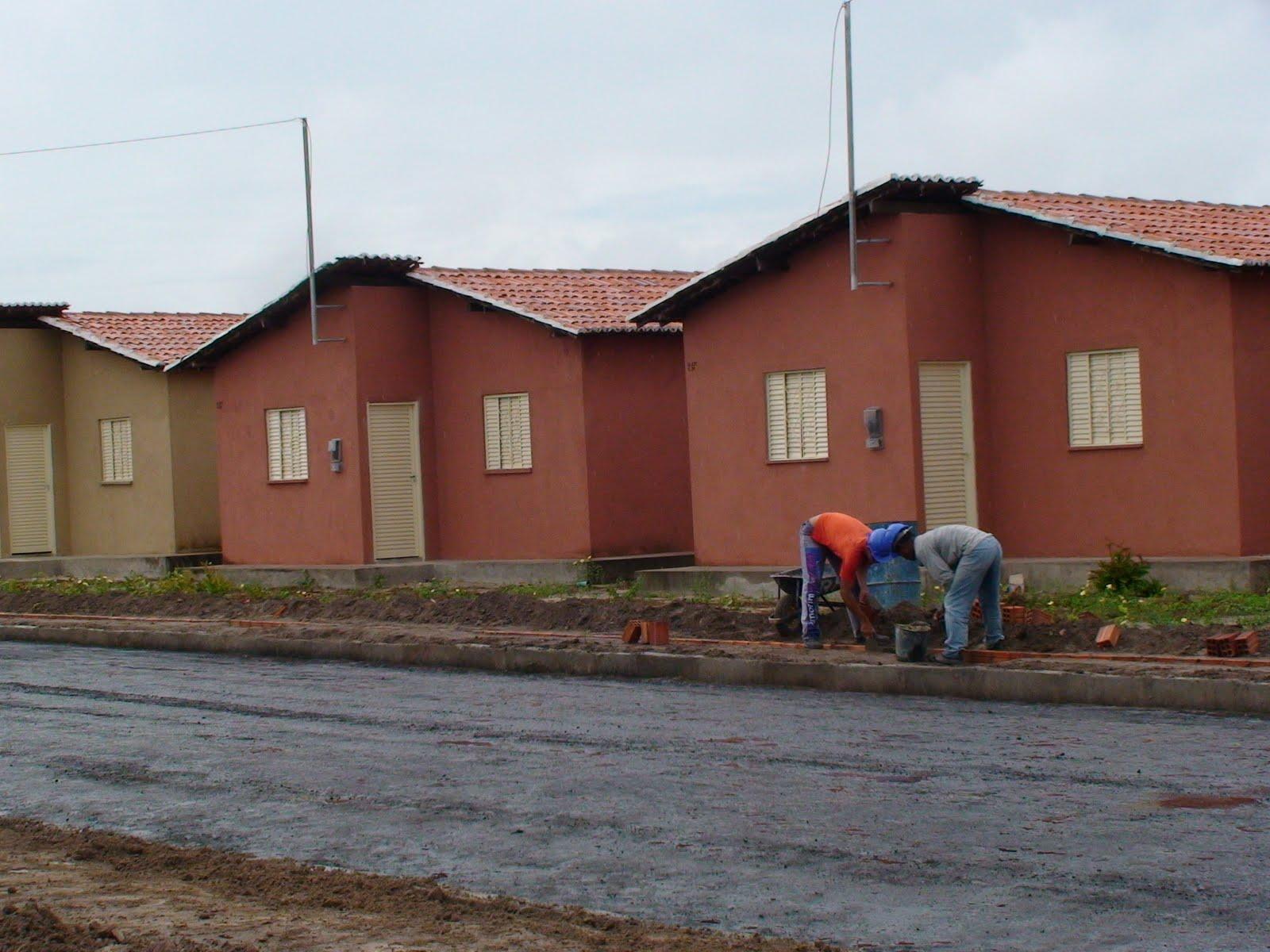 Imagens de #6F4033 Sorteio das residências do programa minha casa minha vida foi  1600x1200 px 3452 Bloco Banheiro Cadeirante