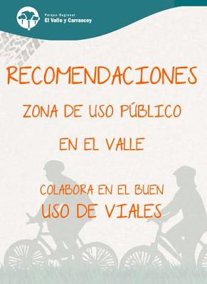 Recomendaciones de uso en el Valle