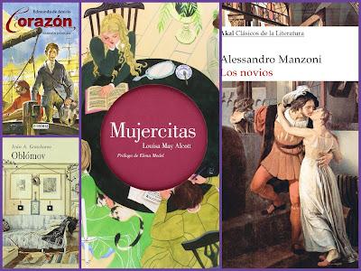 Edmundo de Amicis, Alejandro Manzoni, Oblómov, Mujercitas