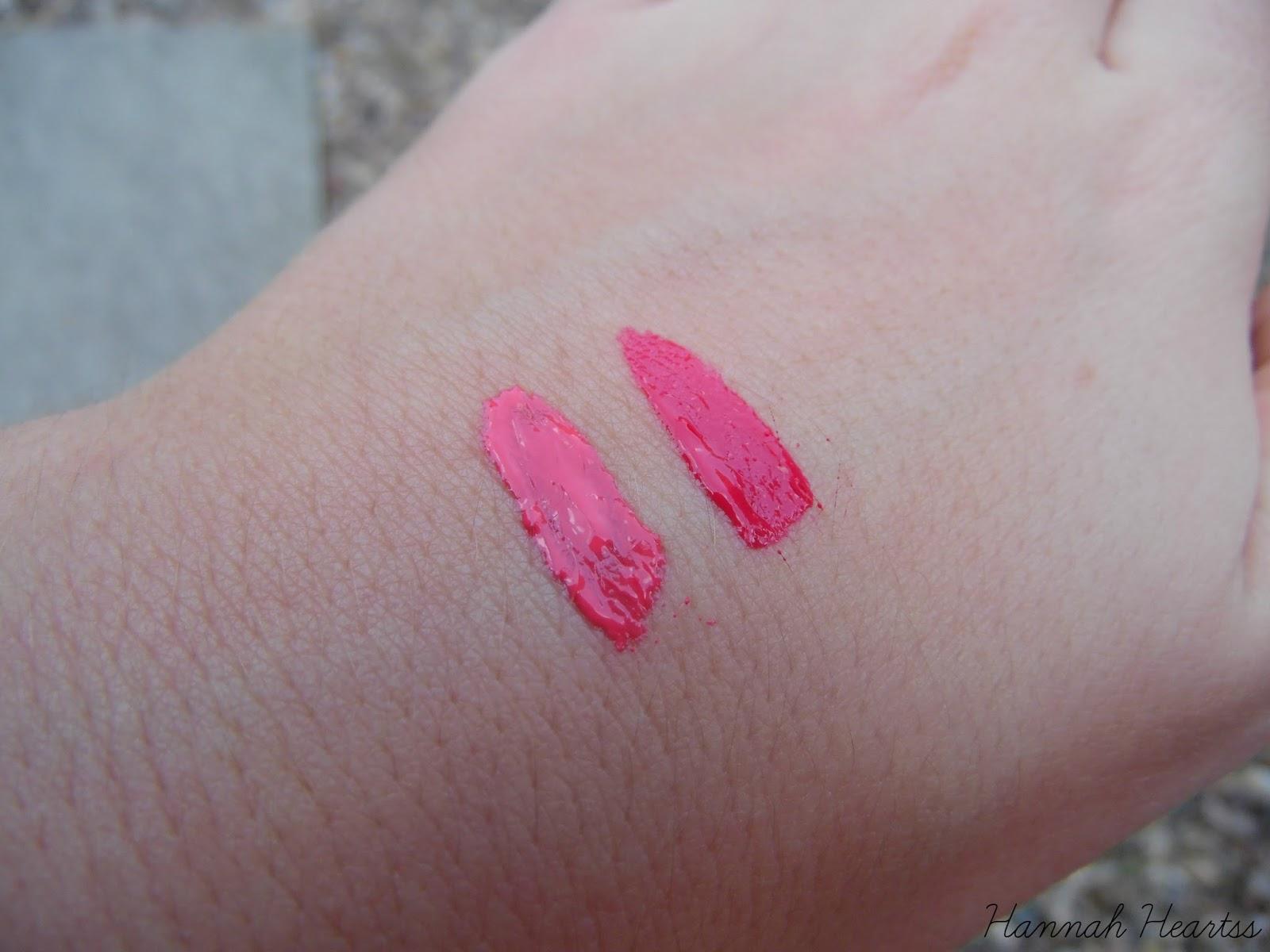 L'Oreal Glam Matte Lipglosses