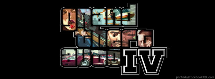 Grand Theft Auto IV, GTA 4, portada de facebook