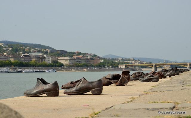 Budapest - les chaussures au bord du Danube